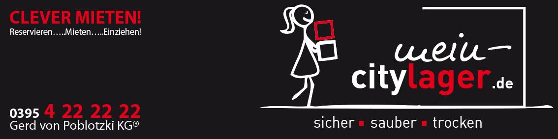 Clever Mieten! In Neubrandenburg Citylager / Selfstorage Logo
